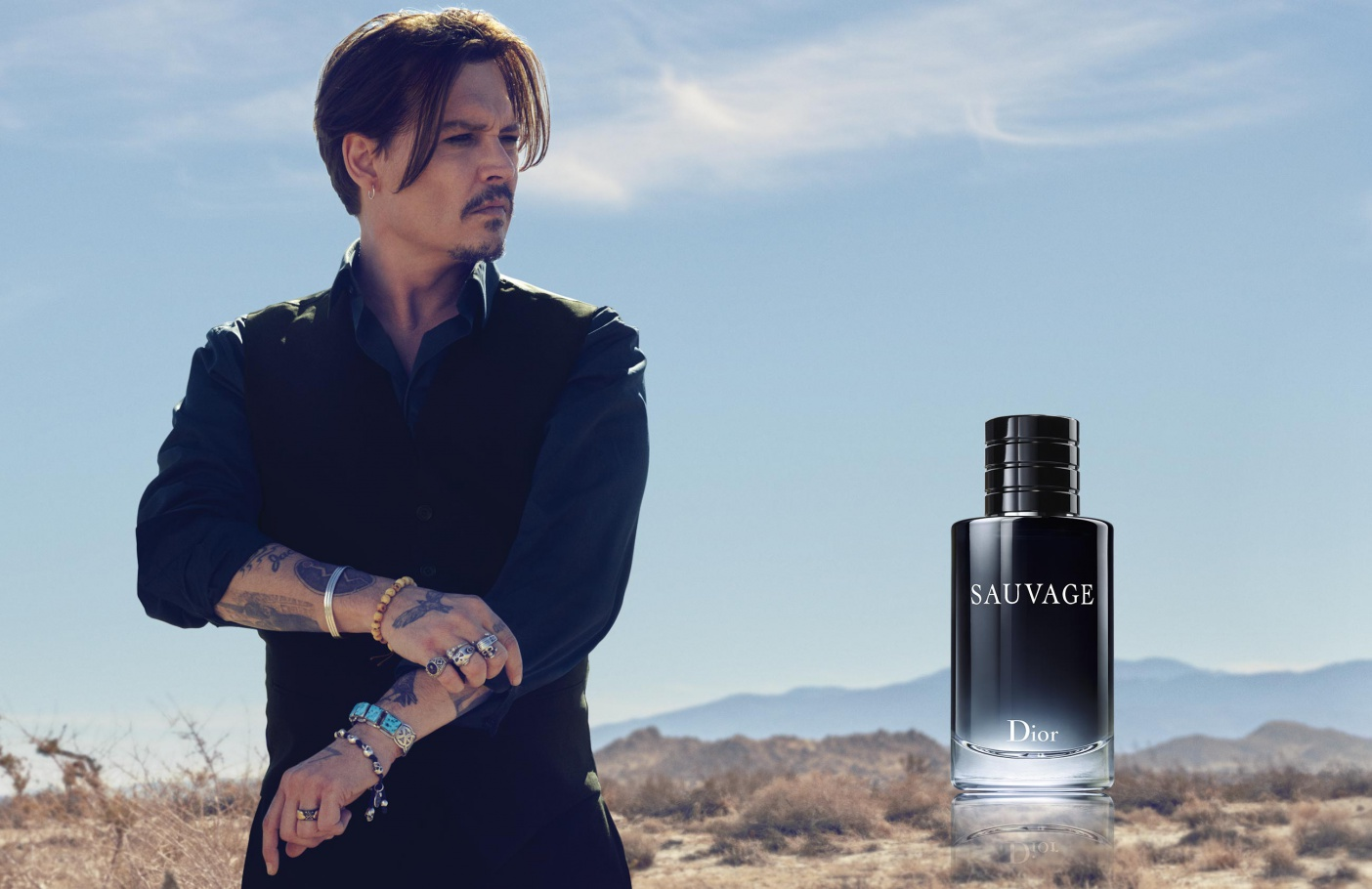 Johnny Depp - Dior Sauvage kampaň