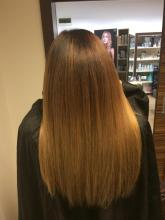 Balayage , baby  highlights